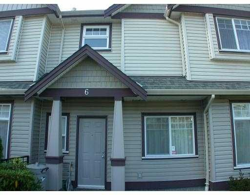 Main Photo: 6 7433 ST ALBANS RD in Richmond: Brighouse South Townhouse for sale : MLS®# V561752