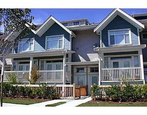 Main Photo: 8 4311 BAYVIEW ST in Richmond: Steveston South Townhouse for sale : MLS®# V543657