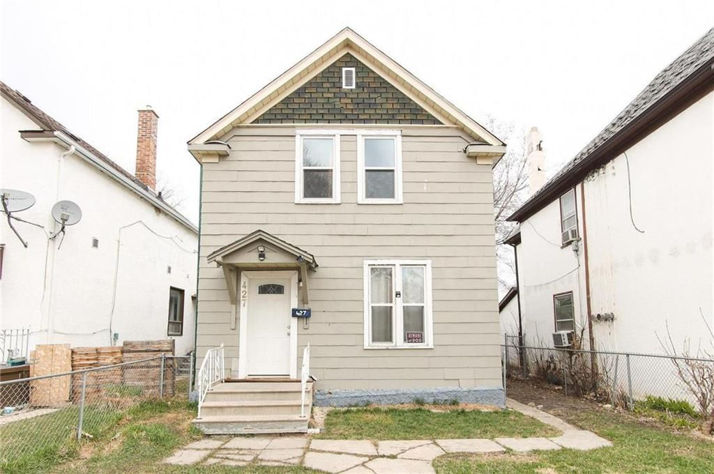 Main Photo: 427 College Avenue in Winnipeg: North End Residential for sale (4A)  : MLS®# 202110127
