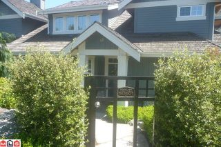 Photo 1: # 48 15715 34TH AV in Surrey: House for sale : MLS®# F1100169