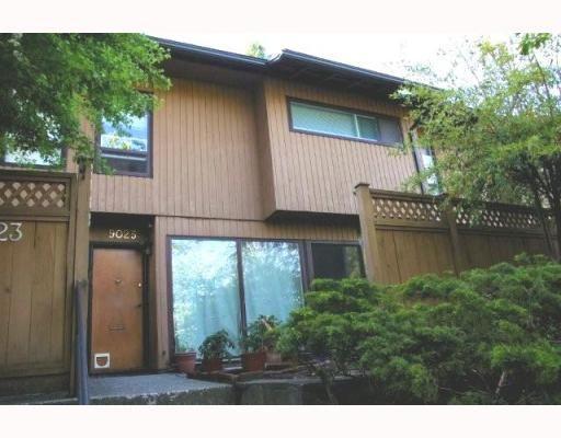 "Main Photo: 9025 LYRA Place in Burnaby: Simon Fraser Hills Townhouse for sale in ""SIMON FRASER HILLS"" (Burnaby North)  : MLS®# V767870"