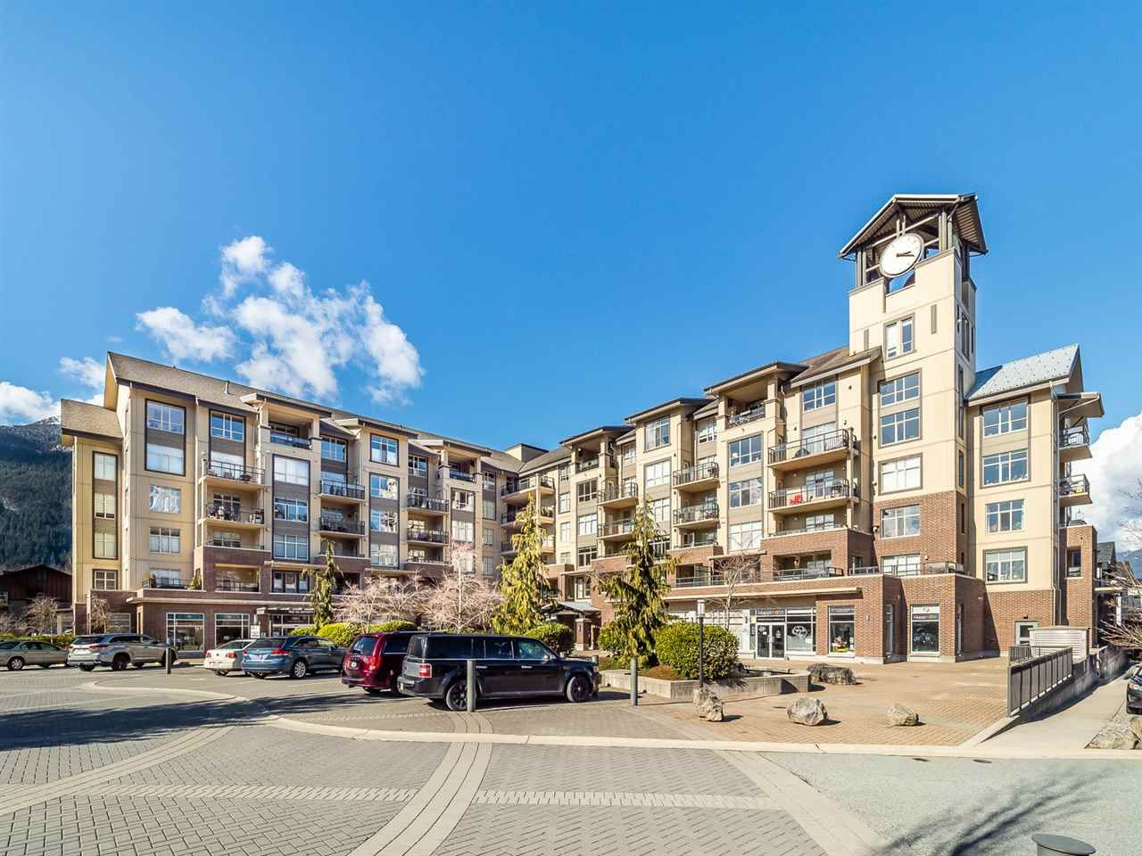 """Main Photo: 604 1211 VILLAGE GREEN Way in Squamish: Downtown SQ Condo for sale in """"Rockcliffe by Solterra"""" : MLS®# R2444542"""