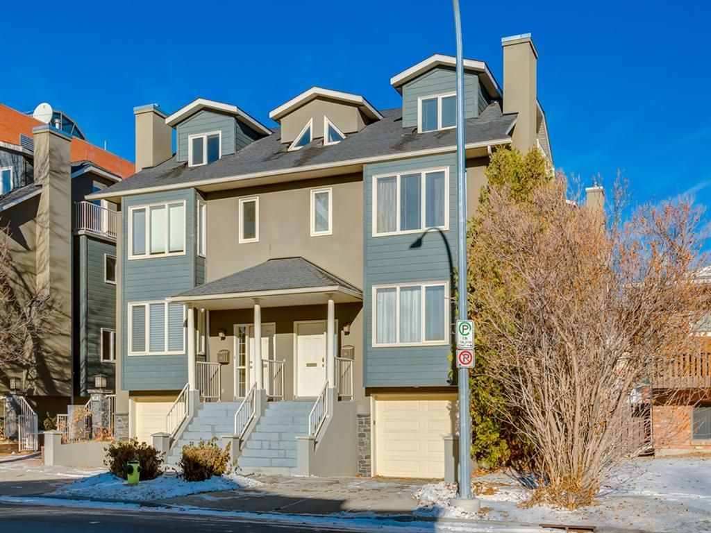 Main Photo: 16 110 10 Avenue NE in Calgary: Crescent Heights Semi Detached for sale : MLS®# A1048311