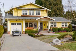 """Main Photo: 22933 SAILES Avenue in Langley: Fort Langley House for sale in """"Fort Langley"""" : MLS®# R2543803"""