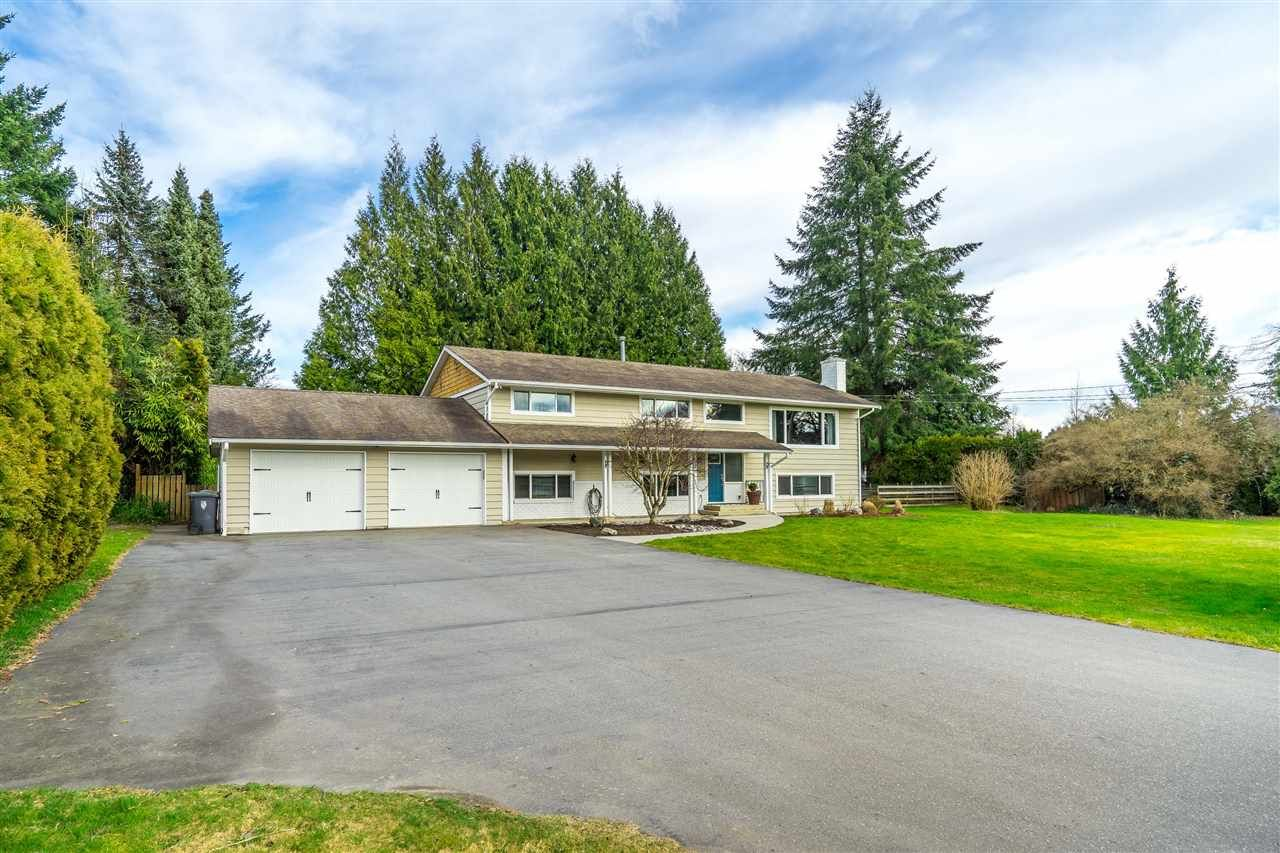 """Main Photo: 4748 238 Street in Langley: Salmon River House for sale in """"Strawberry Hills"""" : MLS®# R2549146"""