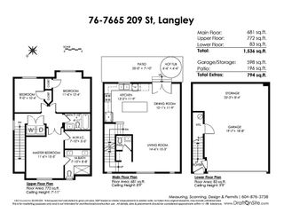"""Photo 20: 76 7665 209 Street in Langley: Willoughby Heights Townhouse for sale in """"Archstone"""" : MLS®# R2359787"""