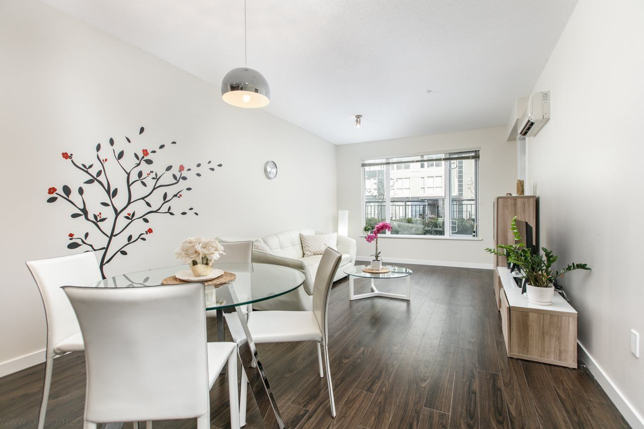 "Main Photo: 156 9388 MCKIM Way in Richmond: West Cambie Condo for sale in ""MAYFAIR PLACE"" : MLS®# R2040447"