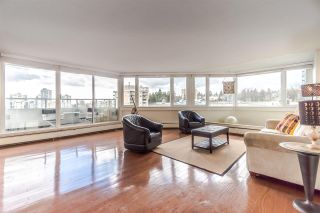 """Photo 1: 1101 31 ELLIOT Street in New Westminster: Downtown NW Condo for sale in """"Royal Albert Towers"""" : MLS®# R2541971"""