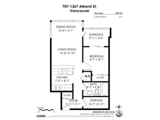 """Photo 26: 707 1367 ALBERNI Street in Vancouver: West End VW Condo for sale in """"The Lions"""" (Vancouver West)  : MLS®# R2581582"""