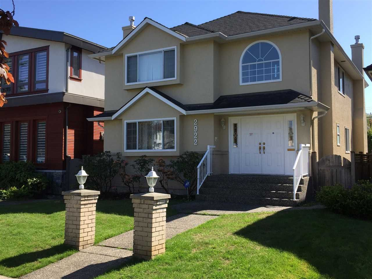 Main Photo: 2922 W 22ND AVENUE in : Arbutus House for sale : MLS®# R2058898