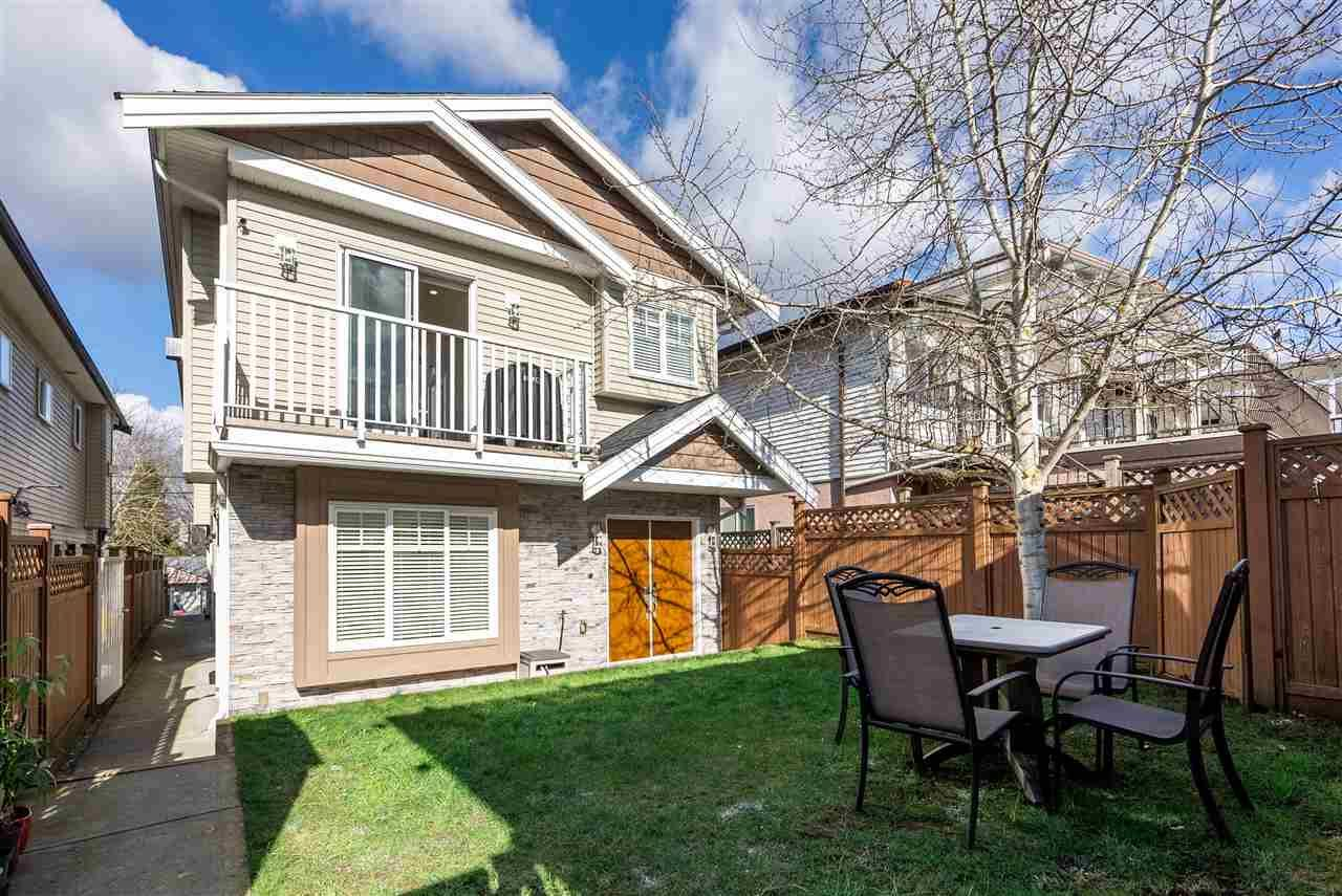 Main Photo: 5268 DOMINION Street in Burnaby: Central BN 1/2 Duplex for sale (Burnaby North)  : MLS®# R2539351