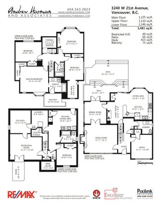 """Photo 20: 3240 W 21ST Avenue in Vancouver: Dunbar House for sale in """"Dunbar"""" (Vancouver West)  : MLS®# R2000254"""