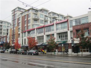 Photo 1: 323 2268 West Broadway in Vancouver: Kitsilano Condo for sale (Vancouver West)  : MLS®# V992681
