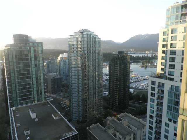 Main Photo: # 2504 1239 W GEORGIA ST in Vancouver: Coal Harbour Condo for sale (Vancouver West)  : MLS®# V1112145