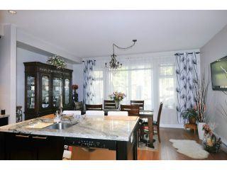 """Photo 5: 144 1460 SOUTHVIEW Street in Coquitlam: Burke Mountain Townhouse for sale in """"CEDAR CREEK"""" : MLS®# V1049640"""