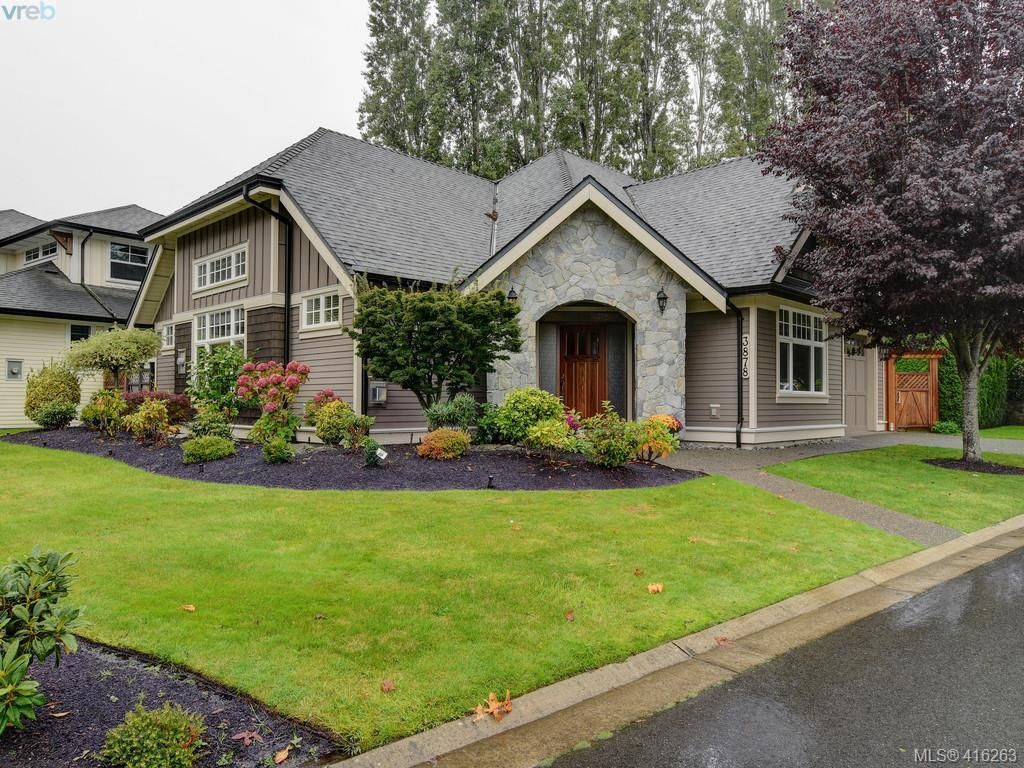 Main Photo: 3878 South Valley Dr in VICTORIA: SW Strawberry Vale House for sale (Saanich West)  : MLS®# 825761