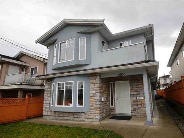 Main Photo: 6068 WOODSWORTH Street in Burnaby: Central BN 1/2 Duplex for sale (Burnaby North)  : MLS®# R2181290