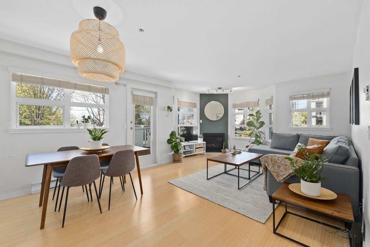 """Main Photo: 202 1515 E 6TH Avenue in Vancouver: Grandview Woodland Condo for sale in """"Woodland Terrace"""" (Vancouver East)  : MLS®# R2571268"""