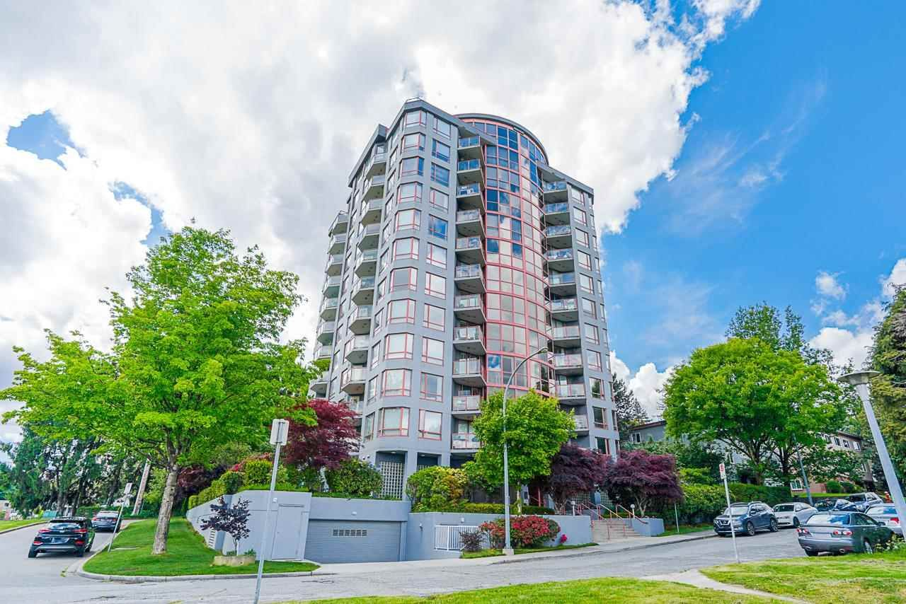 """Main Photo: 803 38 LEOPOLD Place in New Westminster: Downtown NW Condo for sale in """"THE EAGLE CREST"""" : MLS®# R2584446"""