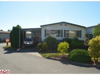 """Photo 1: 64 1640 162ND Street in Surrey: King George Corridor Manufactured Home for sale in """"CHERRY BROOK PARK"""" (South Surrey White Rock)  : MLS®# F1223930"""