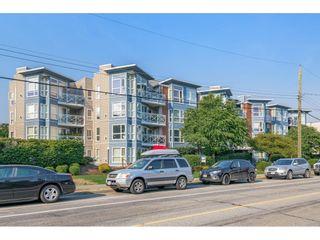 "Photo 1: 202 20245 53 Avenue in Langley: Langley City Condo for sale in ""METRO 1"" : MLS®# R2610622"