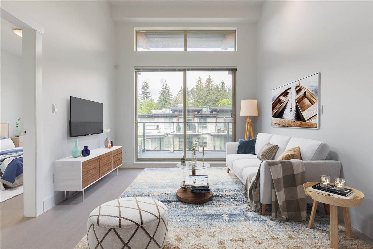 """Main Photo: 402 7428 BYRNEPARK Walk in Burnaby: South Slope Condo for sale in """"GREEN - SPRING BY ADERA"""" (Burnaby South)  : MLS®# R2589765"""