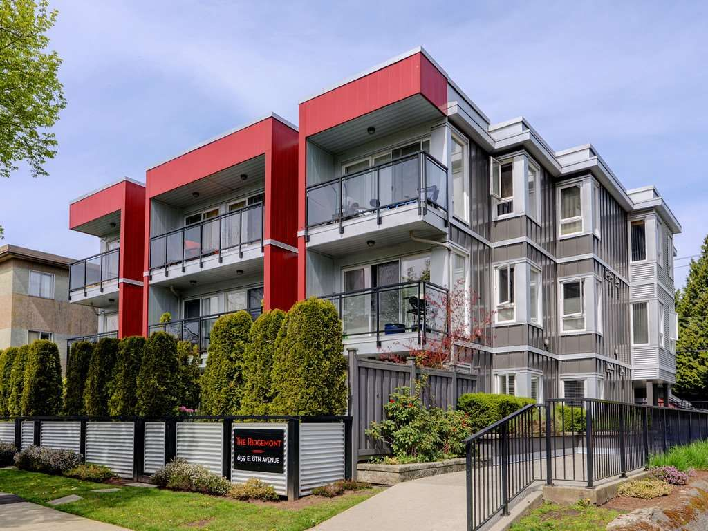 Main Photo: 101 659 E 8TH AVENUE in Vancouver: Mount Pleasant VE Condo for sale (Vancouver East)  : MLS®# R2262284