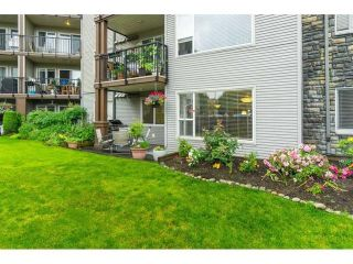"""Photo 24: 101 2581 LANGDON Street in Abbotsford: Abbotsford West Condo for sale in """"Cobblestone"""" : MLS®# R2496936"""