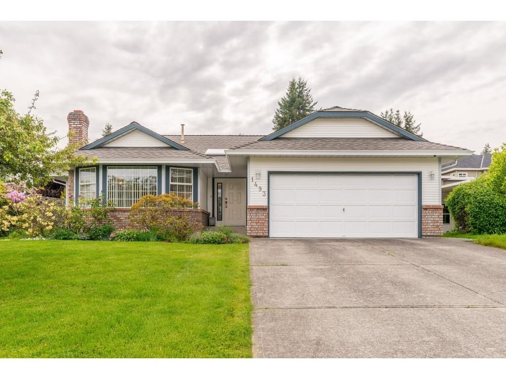 Main Photo: 1493 160A Street in White Rock: King George Corridor House for sale (South Surrey White Rock)  : MLS®# R2370241