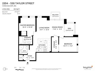 Photo 29: 2204 550 TAYLOR STREET in Vancouver: Downtown VW Condo for sale (Vancouver West)  : MLS®# R2606991
