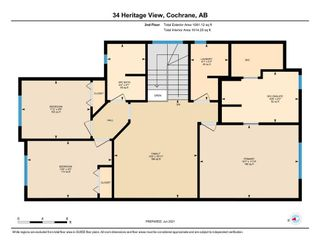 Photo 35: 34 Heritage View: Cochrane Detached for sale : MLS®# A1124388