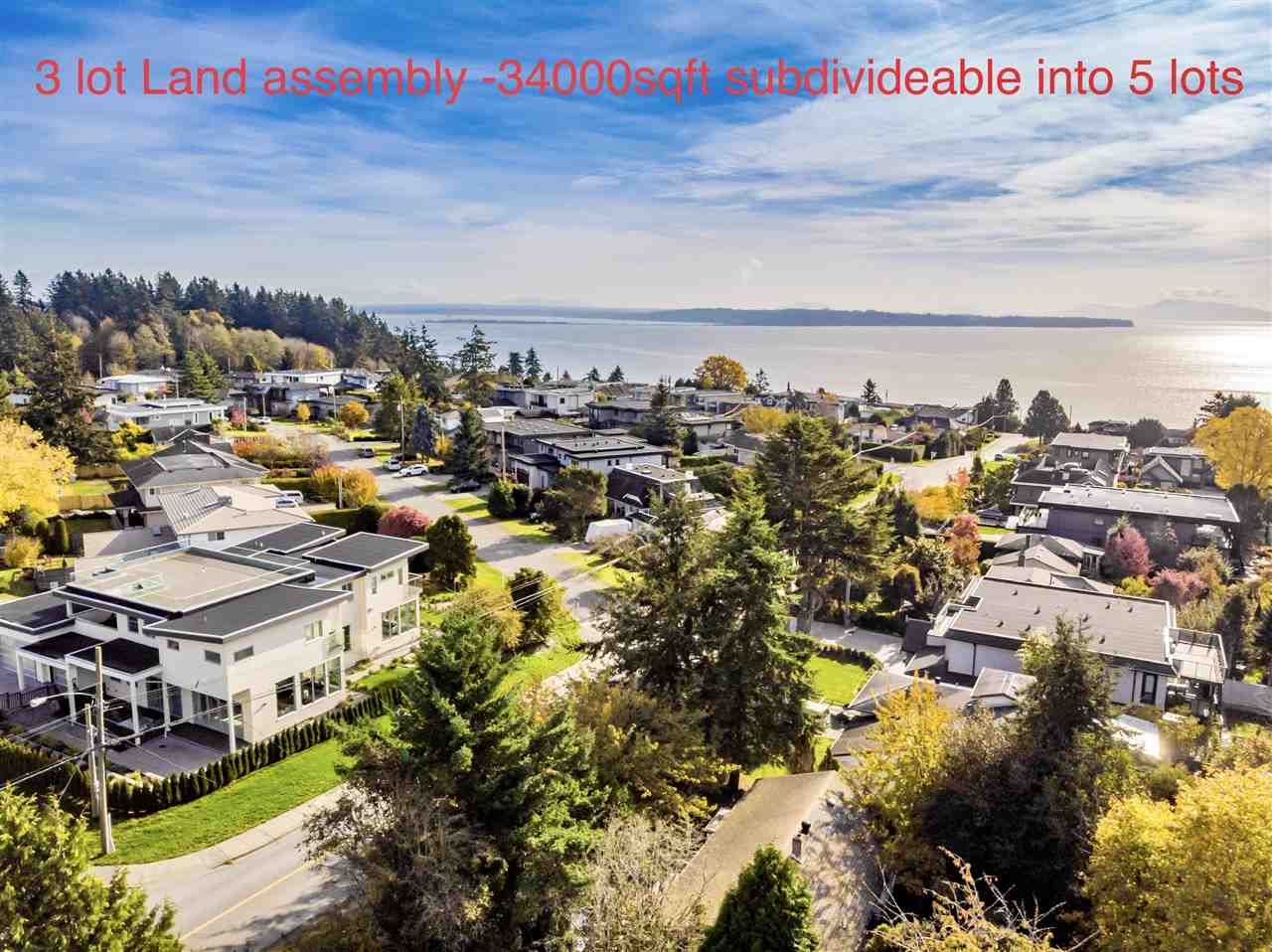 """Main Photo: 14376 NORTH BLUFF Road: White Rock House for sale in """"WEST WHITE ROCK"""" (South Surrey White Rock)  : MLS®# R2513653"""