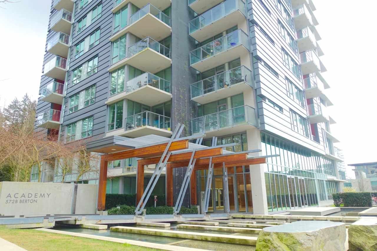"Photo 3: Photos: 1702 5728 BERTON Avenue in Vancouver: University VW Condo for sale in ""ACADEMY"" (Vancouver West)  : MLS®# R2394374"