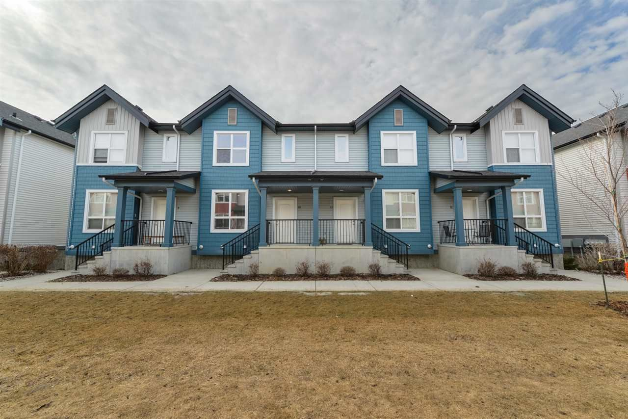 Main Photo: 10 6075 SCHONSEE Way in Edmonton: Zone 28 Townhouse for sale : MLS®# E4242039