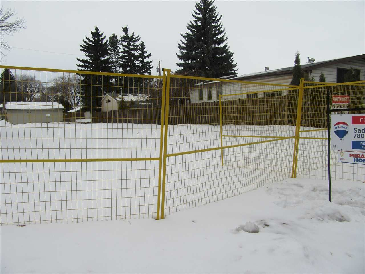 Main Photo: 12716 103 Street in Edmonton: Zone 01 Vacant Lot for sale : MLS®# E4229070