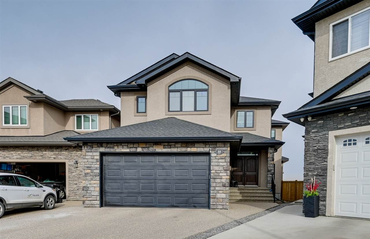 Main Photo: 205 ALBANY Drive in Edmonton: Zone 27 House for sale : MLS®# E4236986