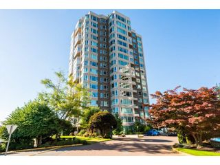 "Photo 1: 1404 3170 GLADWIN Road in Abbotsford: Central Abbotsford Condo for sale in ""REGENCY PARK"" : MLS®# R2463726"