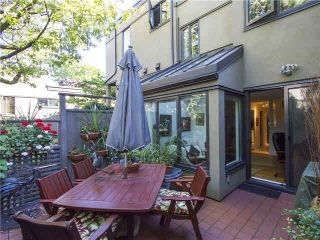 """Photo 5: 809 SAWCUT Street in Vancouver: False Creek Townhouse for sale in """"HEATHER POINT"""" (Vancouver West)  : MLS®# V1086722"""