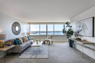 """Photo 3: 1903 1835 MORTON Avenue in Vancouver: West End VW Condo for sale in """"Ocean Towers"""" (Vancouver West)  : MLS®# R2530761"""