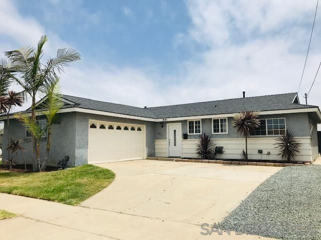Main Photo: SOUTH SD House for sale : 3 bedrooms : 1441 Thermal Ave in San Diego