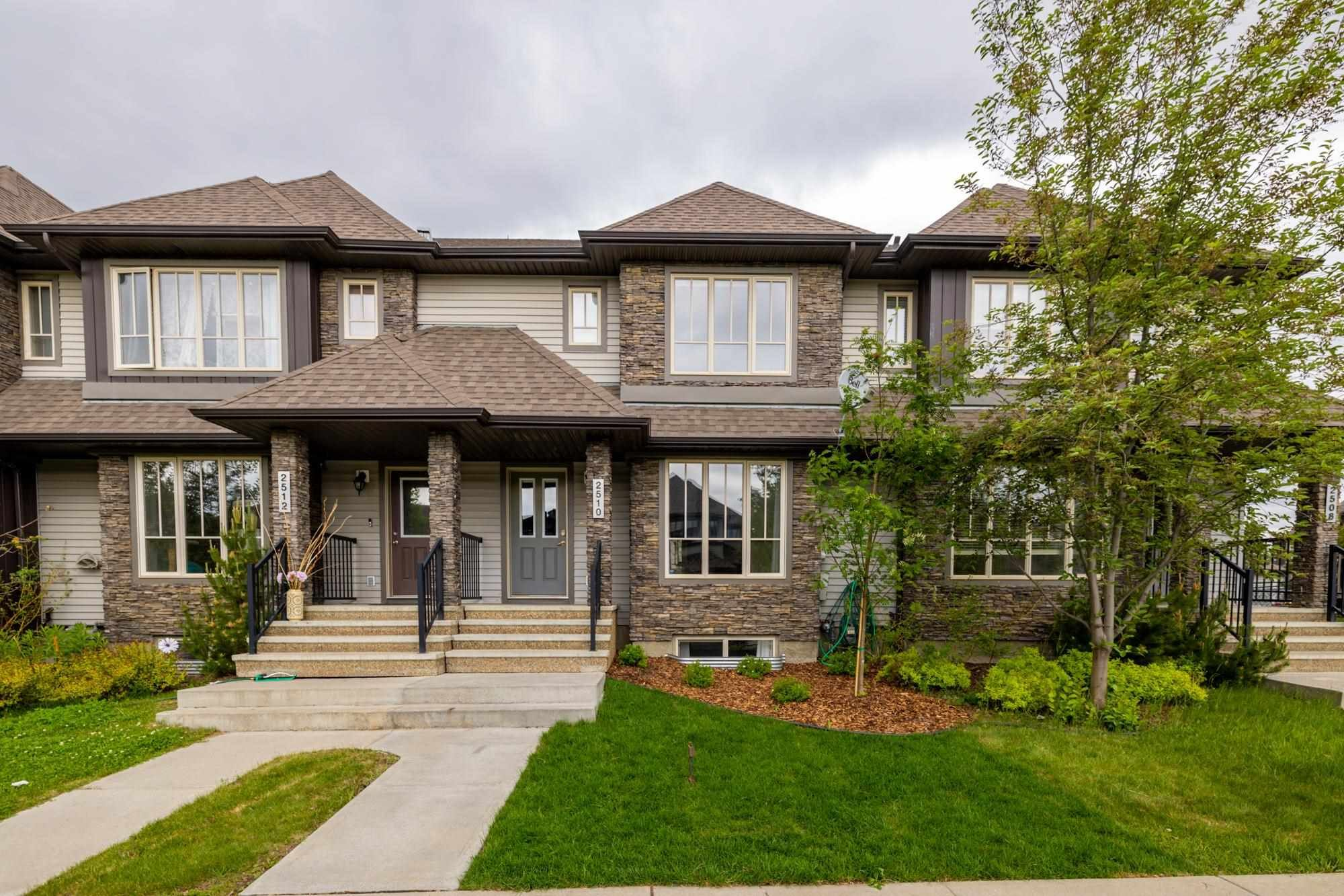 Main Photo: 2510 ANDERSON Way in Edmonton: Zone 56 Attached Home for sale : MLS®# E4248946