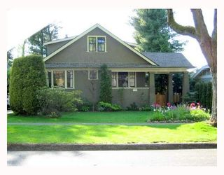 Photo 1: 5025 ANGUS Drive in Vancouver: Quilchena House for sale (Vancouver West)  : MLS®# V647392