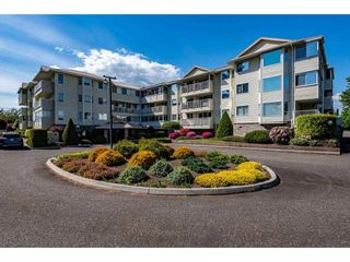 """Photo 1: 310 8725 ELM Drive in Chilliwack: Chilliwack E Young-Yale Condo for sale in """"Elmwood Terrace"""" : MLS®# R2592348"""