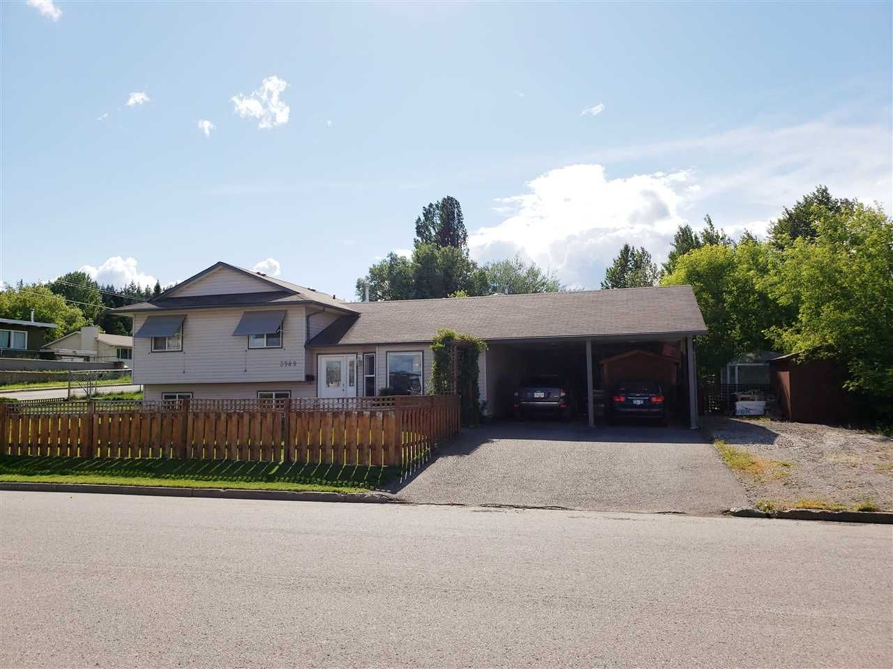 Main Photo: 3989 WIEBE Road in Prince George: Peden Hill House for sale (PG City West (Zone 71))  : MLS®# R2470209