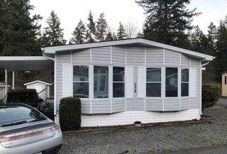 Photo 2: 238 20071 24 Avenue in Langley: Brookswood Langley Manufactured Home for sale : MLS®# R2500766