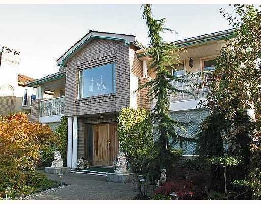 Main Photo: 2326 OLIVER in Vancouver: Arbutus House for sale (Vancouver West)  : MLS®# V753023
