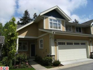 """Photo 1: 22 15237 36TH Avenue in Surrey: Morgan Creek Townhouse for sale in """"Rosemary Walk"""" (South Surrey White Rock)  : MLS®# F1016274"""