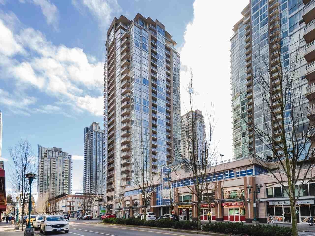 """Main Photo: 706 2978 GLEN Drive in Coquitlam: North Coquitlam Condo for sale in """"GRAND CENTRAL ONE"""" : MLS®# R2540204"""