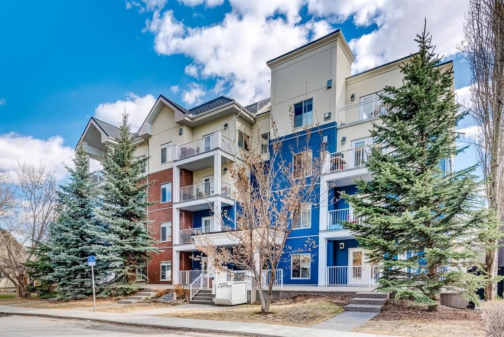 Main Photo: 102 509 21 Avenue SW in Calgary: Cliff Bungalow Apartment for sale : MLS®# A1100850