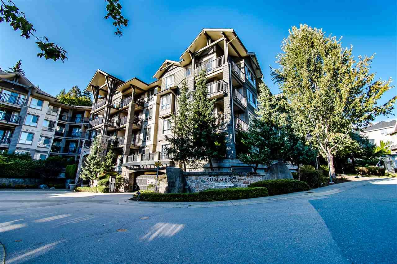 "Main Photo: 117 2969 WHISPER Way in Coquitlam: Westwood Plateau Condo for sale in ""Summerlin"" : MLS®# R2516554"